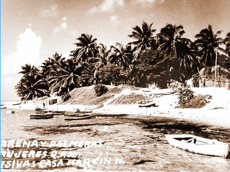 Historic Photos Isla Mujeres