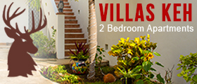 Villas Keh 2 bedroom apartments on Isla Mujeres